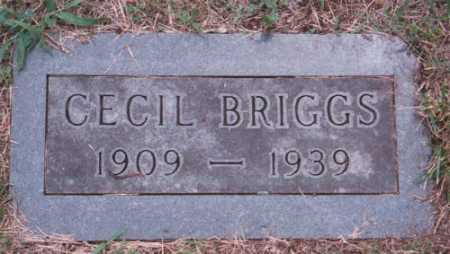 BRIGGS, CECIL - Marion County, Arkansas | CECIL BRIGGS - Arkansas Gravestone Photos