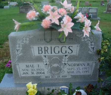 BRIGGS, MAE I. - Marion County, Arkansas | MAE I. BRIGGS - Arkansas Gravestone Photos