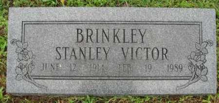BRINKLEY, STANLEY VICTOR - Marion County, Arkansas | STANLEY VICTOR BRINKLEY - Arkansas Gravestone Photos