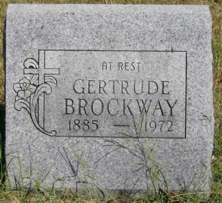 BROCKWAY, GERTRUDE - Marion County, Arkansas | GERTRUDE BROCKWAY - Arkansas Gravestone Photos