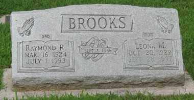 BROOKS, RAYMOND R. - Marion County, Arkansas | RAYMOND R. BROOKS - Arkansas Gravestone Photos