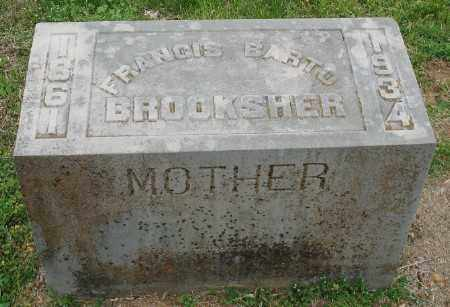 PIERCE BROOKSHER, FRANCIS BARTO - Marion County, Arkansas | FRANCIS BARTO PIERCE BROOKSHER - Arkansas Gravestone Photos