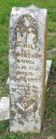 BROOKSHER, WM. RILEY - Marion County, Arkansas | WM. RILEY BROOKSHER - Arkansas Gravestone Photos