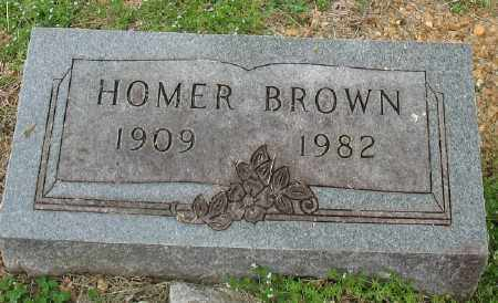 BROWN, HOMER - Marion County, Arkansas | HOMER BROWN - Arkansas Gravestone Photos