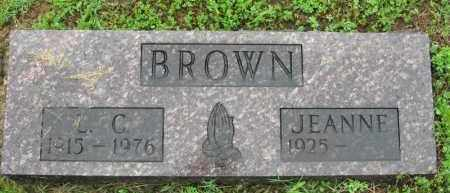 BROWN, L. C. - Marion County, Arkansas | L. C. BROWN - Arkansas Gravestone Photos