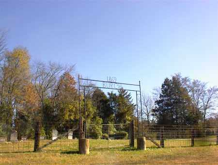 *BURCH CEMETERY GATE,  - Marion County, Arkansas |  *BURCH CEMETERY GATE - Arkansas Gravestone Photos