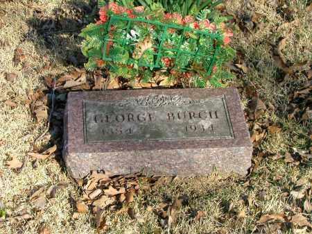 BURCH, GEORGE - Marion County, Arkansas   GEORGE BURCH - Arkansas Gravestone Photos