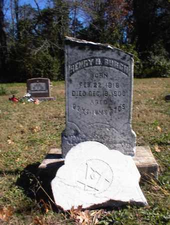 BURCH, HENRY HARDIN - Marion County, Arkansas | HENRY HARDIN BURCH - Arkansas Gravestone Photos