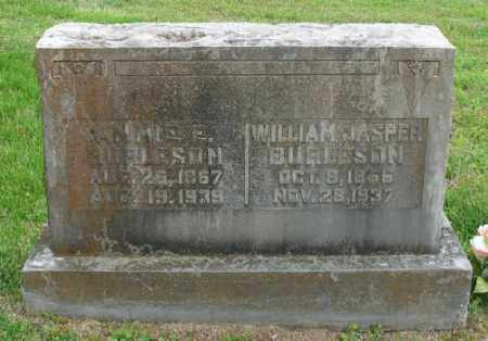 BURLESON, WILLIAM JASPER - Marion County, Arkansas | WILLIAM JASPER BURLESON - Arkansas Gravestone Photos