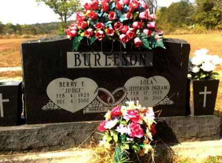 BURLESON, BERRY L. - Marion County, Arkansas | BERRY L. BURLESON - Arkansas Gravestone Photos