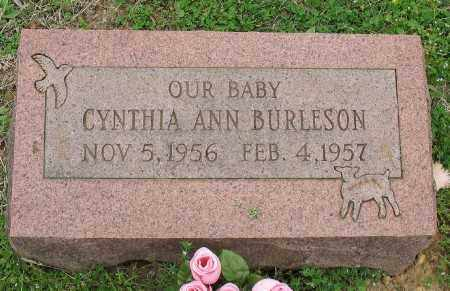 BURLESON, CYNTHIA ANN - Marion County, Arkansas | CYNTHIA ANN BURLESON - Arkansas Gravestone Photos