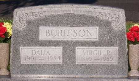 BURLESON, VIRGIL R. - Marion County, Arkansas | VIRGIL R. BURLESON - Arkansas Gravestone Photos
