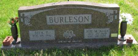 BURLESON JR., JOE M. - Marion County, Arkansas | JOE M. BURLESON JR. - Arkansas Gravestone Photos