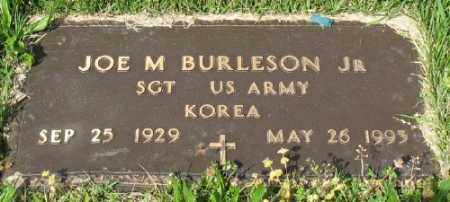 BURLESON, JR (VETERAN KOR), JOE M - Marion County, Arkansas | JOE M BURLESON, JR (VETERAN KOR) - Arkansas Gravestone Photos