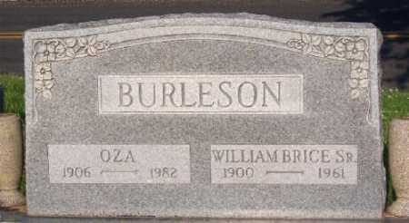 BURLESON SR., WILLIAM BRICE - Marion County, Arkansas | WILLIAM BRICE BURLESON SR. - Arkansas Gravestone Photos