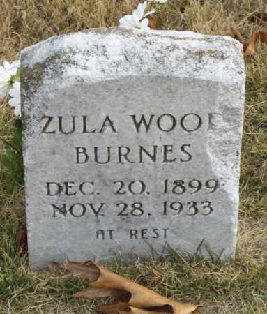 BURNES, ZULA - Marion County, Arkansas | ZULA BURNES - Arkansas Gravestone Photos