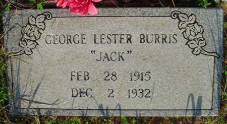 BURRIS, GEORGE LESTER - Marion County, Arkansas | GEORGE LESTER BURRIS - Arkansas Gravestone Photos