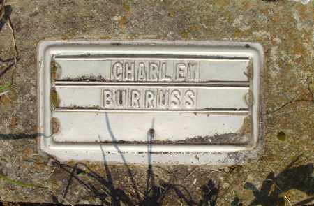 BURRUSS, CHARLEY - Marion County, Arkansas | CHARLEY BURRUSS - Arkansas Gravestone Photos