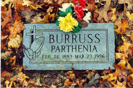 STUBBS BURRUSS, DELPHIA PARTHENIA - Marion County, Arkansas | DELPHIA PARTHENIA STUBBS BURRUSS - Arkansas Gravestone Photos