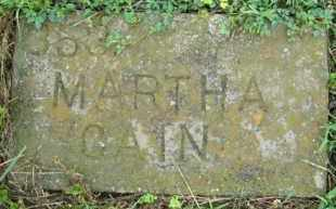 CAIN, MARTHA J. - Marion County, Arkansas | MARTHA J. CAIN - Arkansas Gravestone Photos