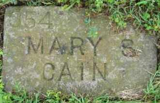 CAIN, MARY SUSAN - Marion County, Arkansas | MARY SUSAN CAIN - Arkansas Gravestone Photos