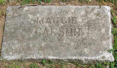 CARSON, MAGGIE - Marion County, Arkansas | MAGGIE CARSON - Arkansas Gravestone Photos