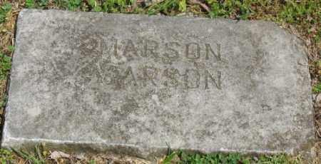 CARSON, MARSON - Marion County, Arkansas | MARSON CARSON - Arkansas Gravestone Photos
