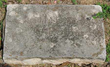 MCFARLAND CARSON, MARY - Marion County, Arkansas | MARY MCFARLAND CARSON - Arkansas Gravestone Photos
