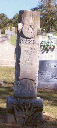 CARSON, OLIVER F. - Marion County, Arkansas | OLIVER F. CARSON - Arkansas Gravestone Photos