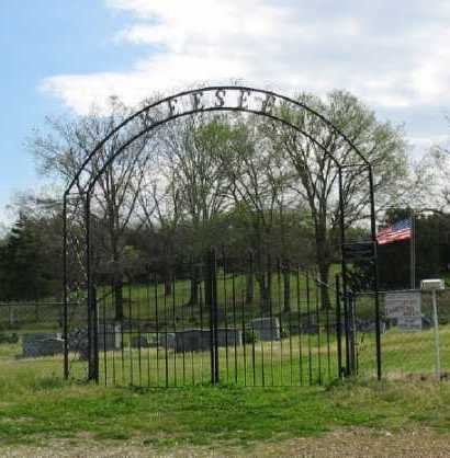 *KEESEE CEMETERY GATE,  - Marion County, Arkansas |  *KEESEE CEMETERY GATE - Arkansas Gravestone Photos