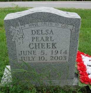 CHEEK, DELSA PEARL - Marion County, Arkansas | DELSA PEARL CHEEK - Arkansas Gravestone Photos
