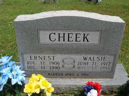 CHEEK, ERNEST - Marion County, Arkansas | ERNEST CHEEK - Arkansas Gravestone Photos