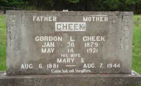 CHEEK, GORDON L. - Marion County, Arkansas | GORDON L. CHEEK - Arkansas Gravestone Photos