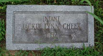 CHEEK, JACKIE LYNN - Marion County, Arkansas | JACKIE LYNN CHEEK - Arkansas Gravestone Photos