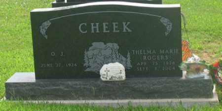 CHEEK, THELMA - Marion County, Arkansas | THELMA CHEEK - Arkansas Gravestone Photos
