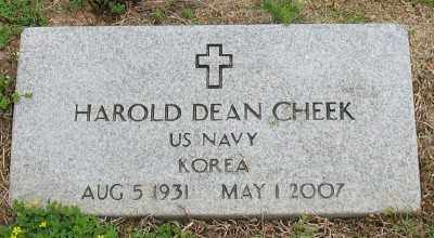 CHEEK (VETERAN KOR), HAROLD DEAN - Marion County, Arkansas | HAROLD DEAN CHEEK (VETERAN KOR) - Arkansas Gravestone Photos