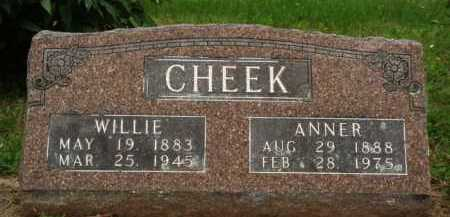 CHEEK, WILLIE - Marion County, Arkansas | WILLIE CHEEK - Arkansas Gravestone Photos