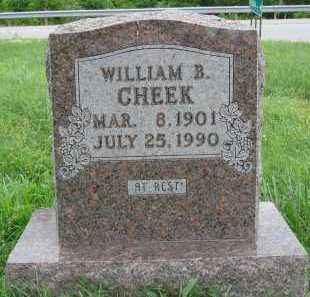 CHEEK, WILLIAM B. - Marion County, Arkansas | WILLIAM B. CHEEK - Arkansas Gravestone Photos