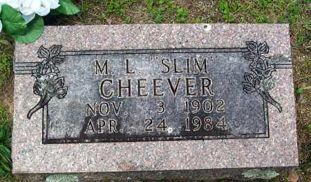 "CHEEVER, M. L. ""SLIM"" - Marion County, Arkansas 