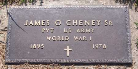 CHENEY, SR. (VETERAN WWI), JAMES O. - Marion County, Arkansas | JAMES O. CHENEY, SR. (VETERAN WWI) - Arkansas Gravestone Photos