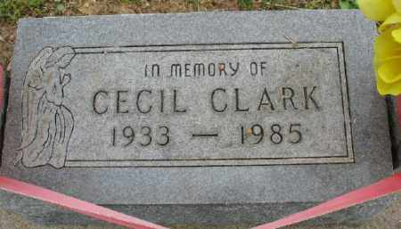 CLARK, CECIL - Marion County, Arkansas | CECIL CLARK - Arkansas Gravestone Photos