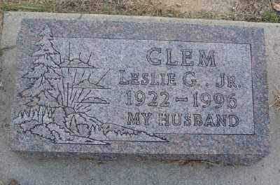 CLEM JR., LESLIE G. - Marion County, Arkansas | LESLIE G. CLEM JR. - Arkansas Gravestone Photos
