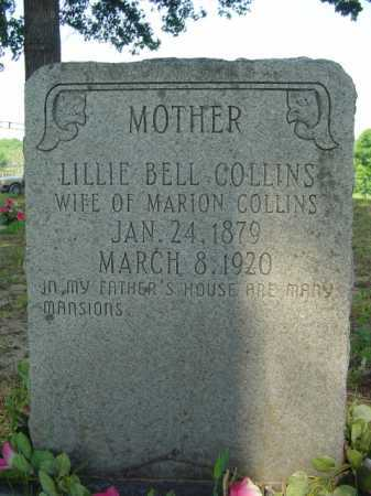 COLLINS, LILLIE - Marion County, Arkansas | LILLIE COLLINS - Arkansas Gravestone Photos