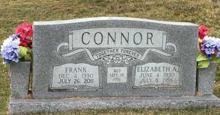 CONNOR, ELIZABETH A - Marion County, Arkansas | ELIZABETH A CONNOR - Arkansas Gravestone Photos