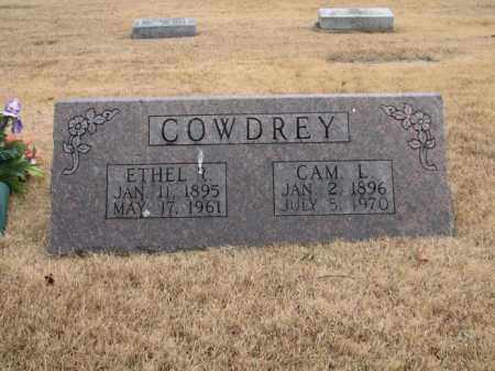 COWDREY, ETHEL R. - Marion County, Arkansas | ETHEL R. COWDREY - Arkansas Gravestone Photos