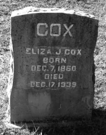THOMPSON COX, ELIZA JANE - Marion County, Arkansas | ELIZA JANE THOMPSON COX - Arkansas Gravestone Photos