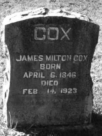 COX, JAMES MILTON - Marion County, Arkansas | JAMES MILTON COX - Arkansas Gravestone Photos
