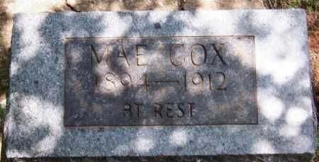 COX, MAE - Marion County, Arkansas | MAE COX - Arkansas Gravestone Photos