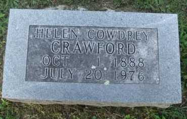 COWDREY CRAWFORD, HELEN - Marion County, Arkansas | HELEN COWDREY CRAWFORD - Arkansas Gravestone Photos