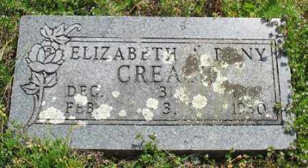 CREACH, ELIZABETH A. - Marion County, Arkansas | ELIZABETH A. CREACH - Arkansas Gravestone Photos